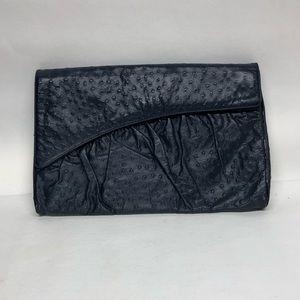 Vintage Supreme Genuine Ostrich Leather Clutch